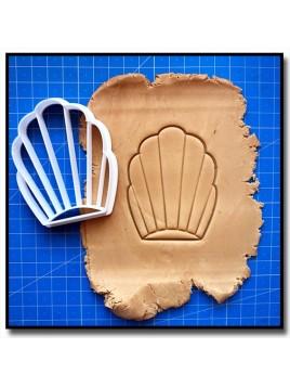 Madeleine 001 - Emporte-pièce pour pâtes à sucre et sablés sur le thème Nourriture
