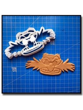 Eggman 001 - Emporte-pièce pour pâtes à sucre et sablés sur le thème Sonic
