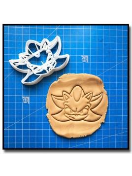 Shadow 001 - Emporte-pièce pour pâtes à sucre et sablés sur le thème Sonic