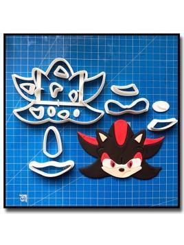 Shadow 101 - Emporte-pièce en Kit pour pâtes à sucre et sablés sur le thème Sonic