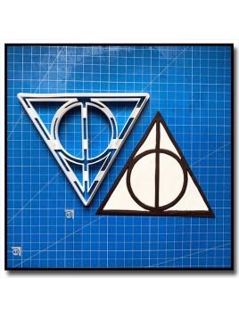 Reliques de la Mort 101 - Emporte-pièce en Kit pour pâtes à sucre et sablés sur le thème Harry Potter