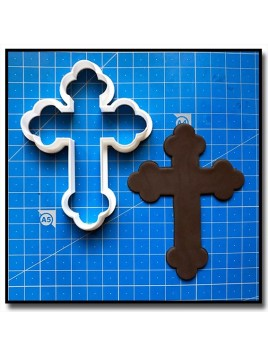 Croix Trilobée 201 - Emporte-pièce pour pâtes à sucre et sablés sur le thème Bâpteme