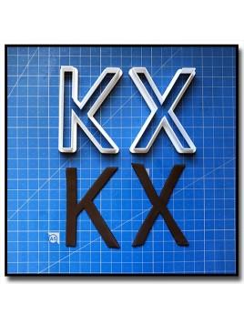 Times New Roman Typographie 201 - Emporte-pièce pour pâtes à sucre et sablés sur le thème Alphabet & Nombre