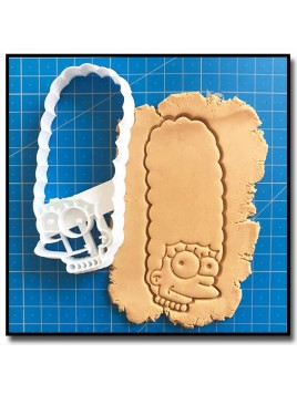 Marge Simpsons 001 - Emporte-pièce pour pâtes à sucre et sablés sur le thème Les Simpsons