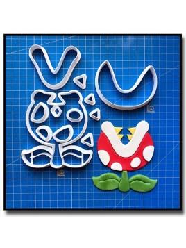 Plante Piranha 101 - Emporte-pièce en Kit pour pâtes à sucre et sablés sur le thème Super Mario
