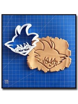 Dragon Ball Z - Sangoku 001 - Emporte-pièce pour pâtes à sucre et sablés sur le thème Mangas