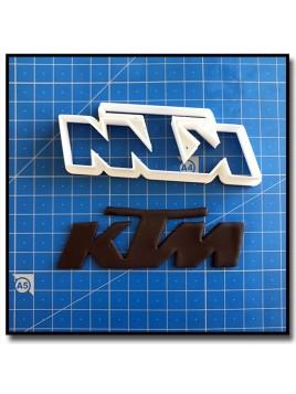 KTM Logo 201 - Emporte-pièce pour pâtes à sucre et sablés sur le thème Moto
