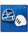 Main de Mickey 0 Chiffres 001 - Emporte-pièce pour pâtes à sucre et sablés sur le thème La bande de Mickey