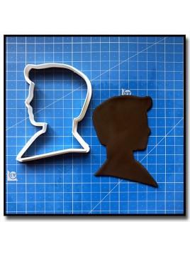 Ken 201 - Emporte-pièce pour pâtes à sucre et sablés sur le thème Barbie