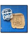 Pat Patrouille Logo, Age & Prénom 001 - Emporte-pièce pour pâtes à sucre et sablés sur le thème Pat Patrouille