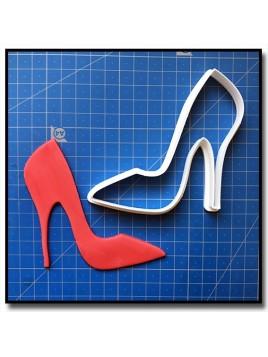 Escarpin 201 - Emporte-pièce pour pâtes à sucre et sablés sur le thème Mode & Fashion