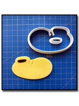 Mickey chaussure droite 101 - Emporte-pièce en Kit pour pâtes à sucre et sablés sur le thème La bande de Mickey