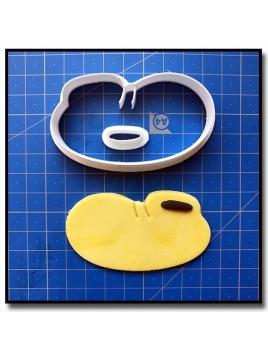 Mickey chaussure gauche 101 - Emporte-pièce en Kit pour pâtes à sucre et sablés sur le thème La bande de Mickey