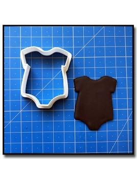 Body 201 - Emporte-pièce pour pâtes à sucre et sablés sur le thème Naissance