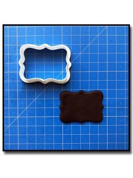 Plaque 201 - Emporte-piece pour pâtes à sucre et sablés sur le thème Plaques & Formes