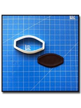 Plaque 202 - Emporte-pièce pour pâtes à sucre et sablés sur le thème Plaques & Formes