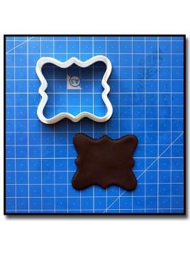 Plaque 203 - Emporte-pièce pour pâtes à sucre et sablés sur le thème Plaques & Formes