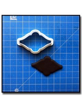 Plaque 204 - Emporte-pièce pour pâtes à sucre et sablés sur le thème Plaques & Formes