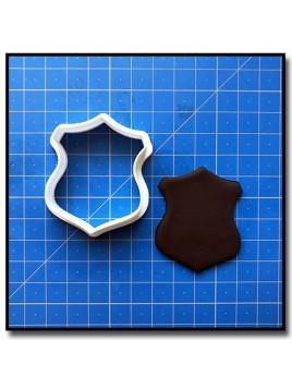 Plaque 206 - Emporte-pièce pour pâtes à sucre et sablés sur le thème Plaques & Formes