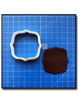 Plaque 207 - Emporte-pièce pour pâtes à sucre et sablés sur le thème Plaques & Formes
