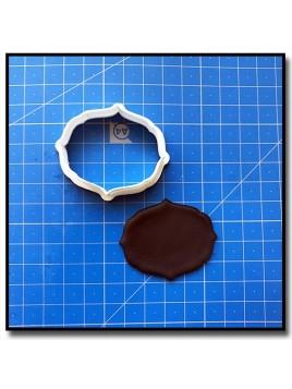 Plaque 208 - Emporte-pièce pour pâtes à sucre et sablés sur le thème Plaques & Formes