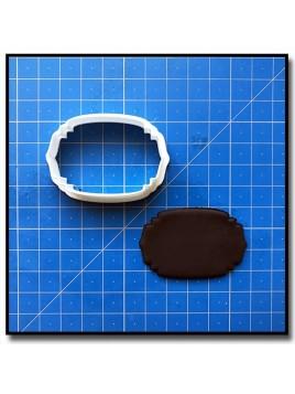 Plaque 209 - Emporte-pièce pour pâtes à sucre et sablés sur le thème Plaques & Formes