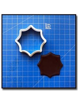 Plaque 210 - Emporte-pièce pour pâtes à sucre et sablés sur le thème Plaques & Formes