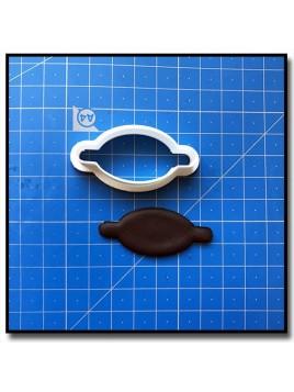 Plaque 205 - Emporte-pièce pour pâtes à sucre et sablés sur le thème Plaques & Formes