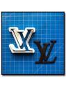 LV Logo 201 - Emporte-pièce pour pâtes à sucre et sablés sur le thème Mode & Fashion