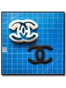 CH Logo 201 - Emporte-pièce pour pâtes à sucre et sablés sur le thème Mode & Fashion