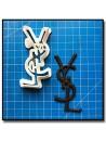 YSL Logo 201 - Emporte-pièce