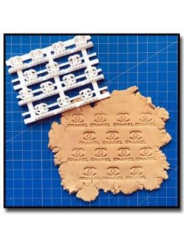 CH Logo 301 - Tampon pour pâtes à sucre et sablés sur le thème Mode & Fashion