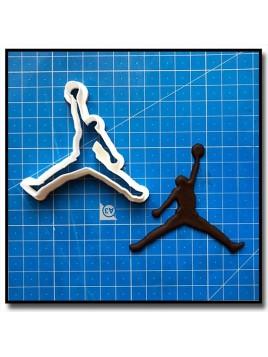 Jordan 201 - Emporte-pièce pour pâtes à sucre et sablés sur le thème Basketball