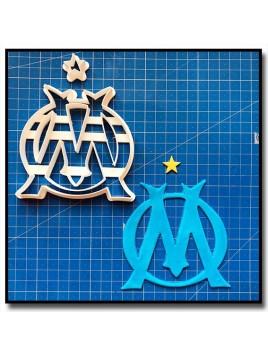 Olympique de Marseille OM 101 - Emporte-pièce en Kit