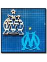 Olympique de Marseille OM 101 - Emporte-pièce en Kit pour pâtes à sucre et sablés sur le thème Football