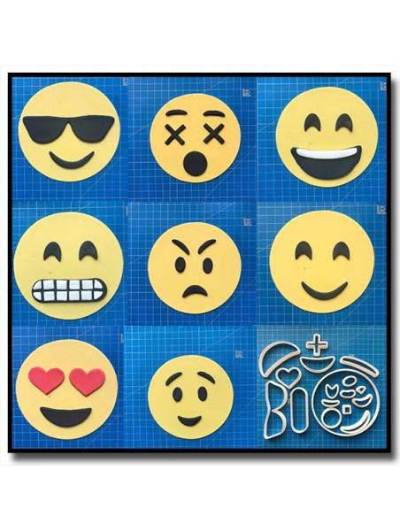 Emoticone Complet 101 - Emporte-pièce en Kit