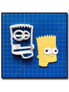 Bart Simpsons 101 - Emporte-pièce en Kit pour pâtes à sucre et sablés sur le thème Les Simpsons