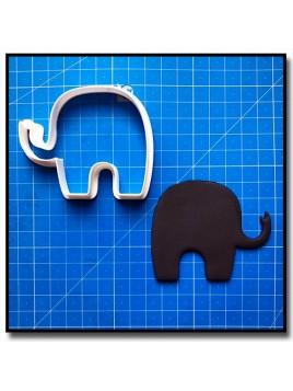 Elephant 201 - Emporte-pièce pour pâtes à sucre et sablés sur le thème Safari