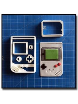 Gameboy 101 - Emporte-pièce en Kit pour pâtes à sucre et sablés sur le thème Jeux Vidéos