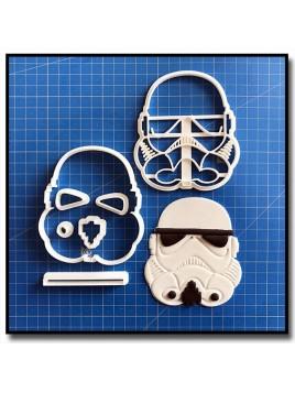 Stormtrooper 101 - Emporte-pièce en Kit pour pâtes à sucre et sablés sur le thème Star Wars
