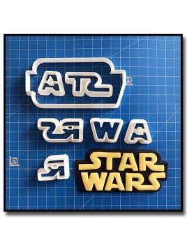 Star Wars 101 - Emporte-pièce en Kit pour pâtes à sucre et sablés sur le thème Star Wars