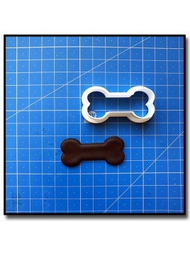Os de chien 201 - Emporte-pièce pour pâtes à sucre et sablés sur le thème Pat Patrouille