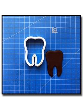 Dent 201 - Emporte-pièce pour pâtes à sucre et sablés sur le thème Médical