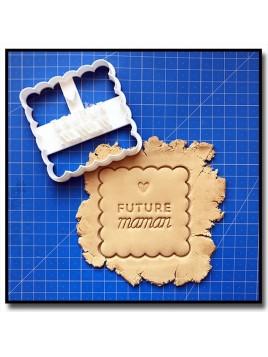Futur Maman/Papa 001 - Emporte-pièce pour pâtes à sucre et sablés sur le thème Naissance