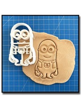 Minions - Kévin 001 - Emporte-pièce pour pâtes à sucre et sablés sur le thème Dessin Animés
