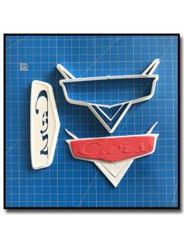 Cars 101 - Emporte-pièce en Kit pour pâtes à sucre et sablés sur le thème Cars