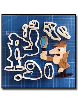 Inspecteur Clouseau 101 - Emporte-pièce en Kit pour pâtes à sucre et sablés sur le thème Dessin Animés