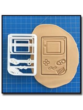 Gameboy 001 - Emporte-pièce pour pâtes à sucre et sablés sur le thème Jeux Vidéos