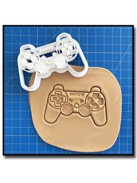 Manette Playstation 001 - Emporte-pièce pour pâtes à sucre et sablés sur le thème Jeux Vidéos