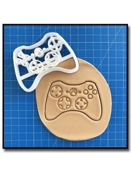 Manette XBox 001 - Emporte-pièce pour pâtes à sucre et sablés sur le thème Jeux Vidéos